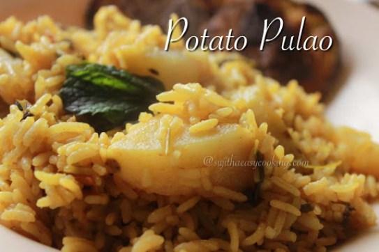 Potato Pulao2