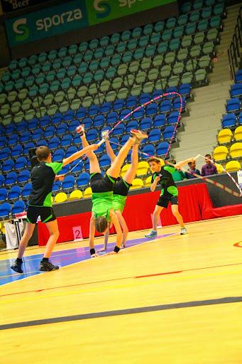 Jumpfun Roeselare op BK rope skipping op Schiervelde Roeselare