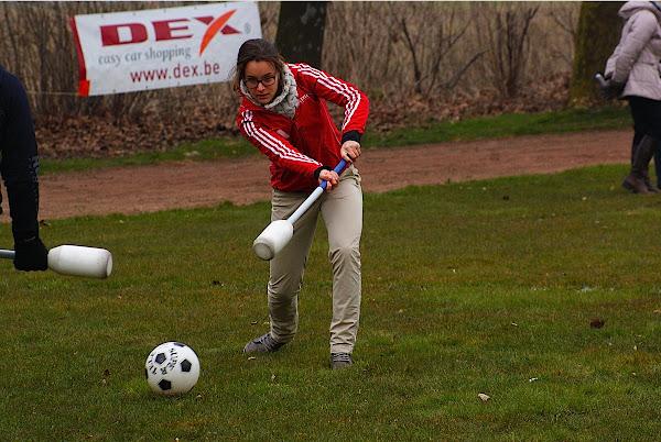 Erica Coppey speelt Hockey in Roeselare