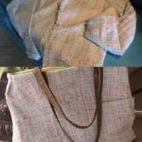 Blazer to Bag Refashion #4