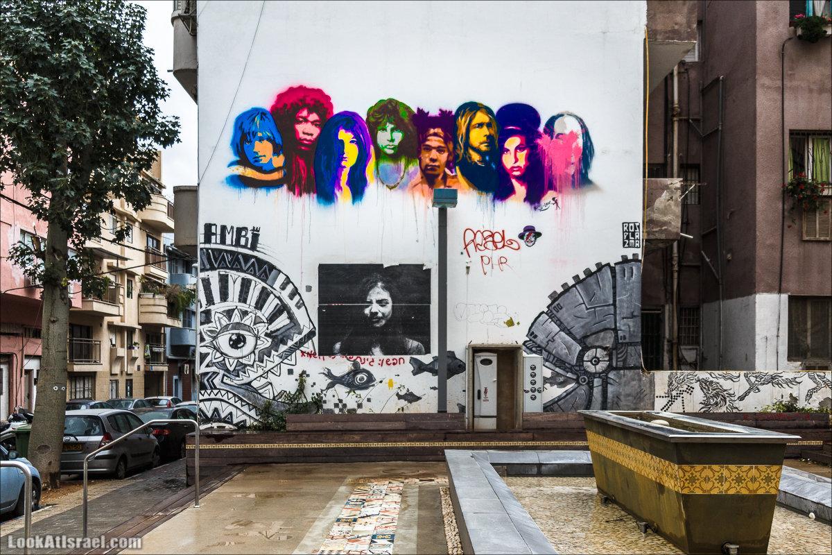 «Клуб 27» на граффити Тель Авива