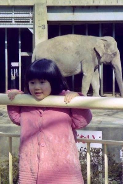 牧野結美(レーズン牧野)の幼少期のお宝写真