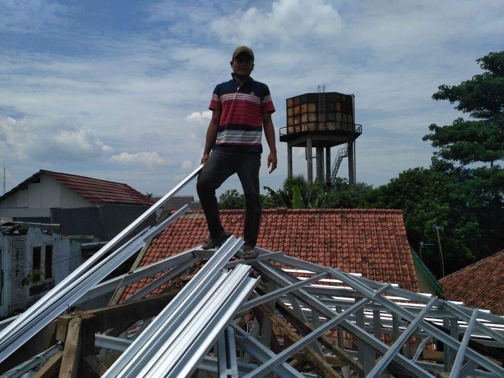 aplikator baja ringan jambi file contoh pekerjaan rangka atap