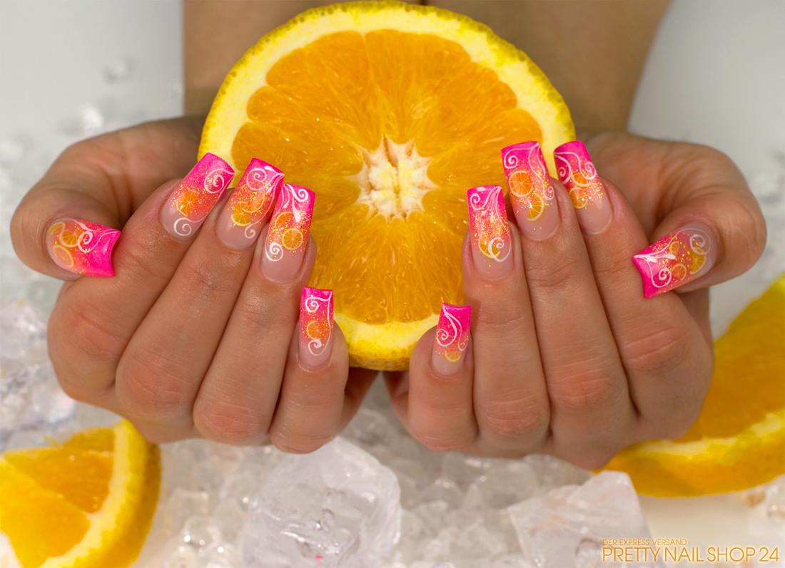IN VOGUE CITRUS FRUITS NAILS ART TUTORIALS FOR LADIES 1