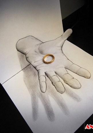 Hình Ảnh 3D Vẽ Bằng Bút Chì Độc Đáo Nhất