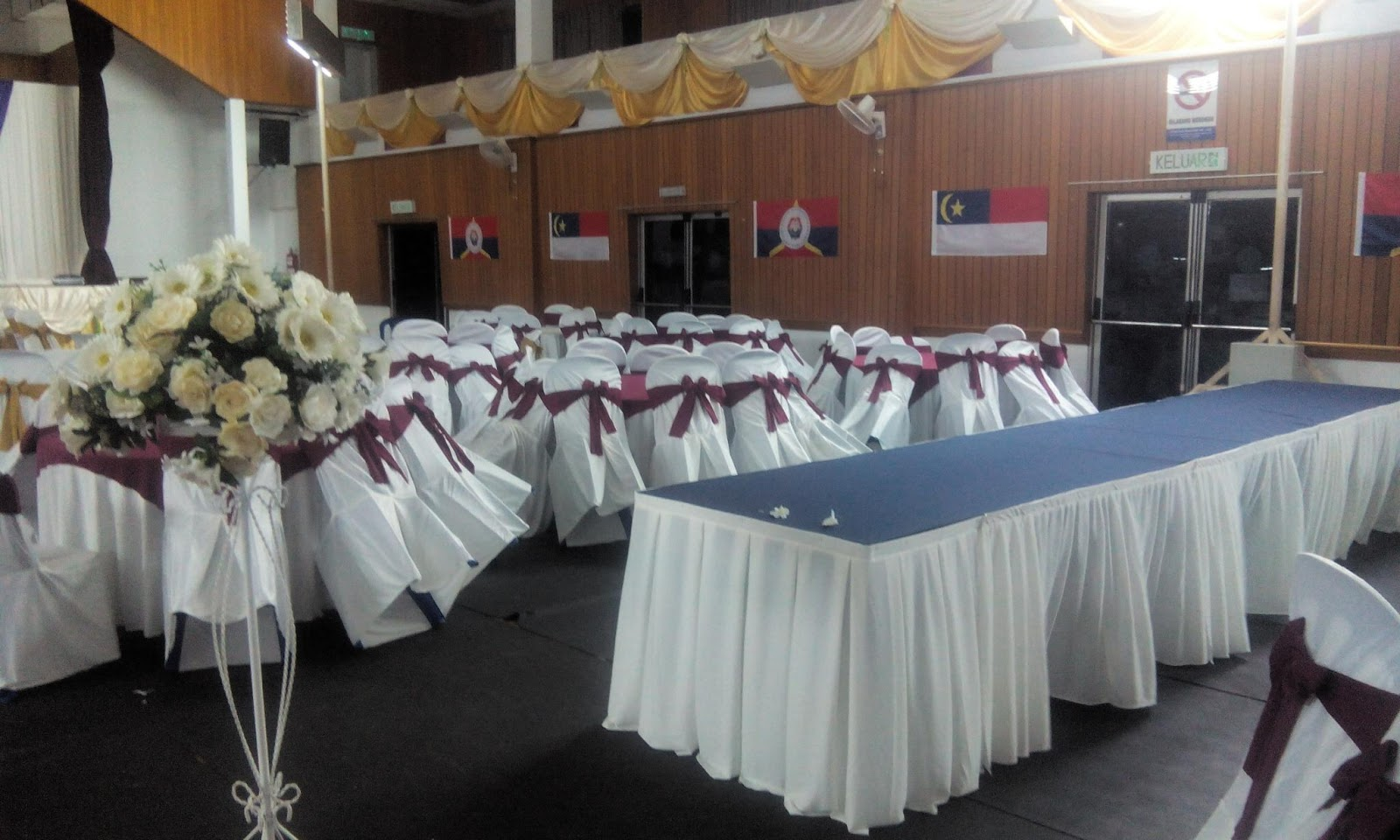 banquet chair covers malaysia duncan phyfe dining chairs sarung kerusi murah cover at low price de hati