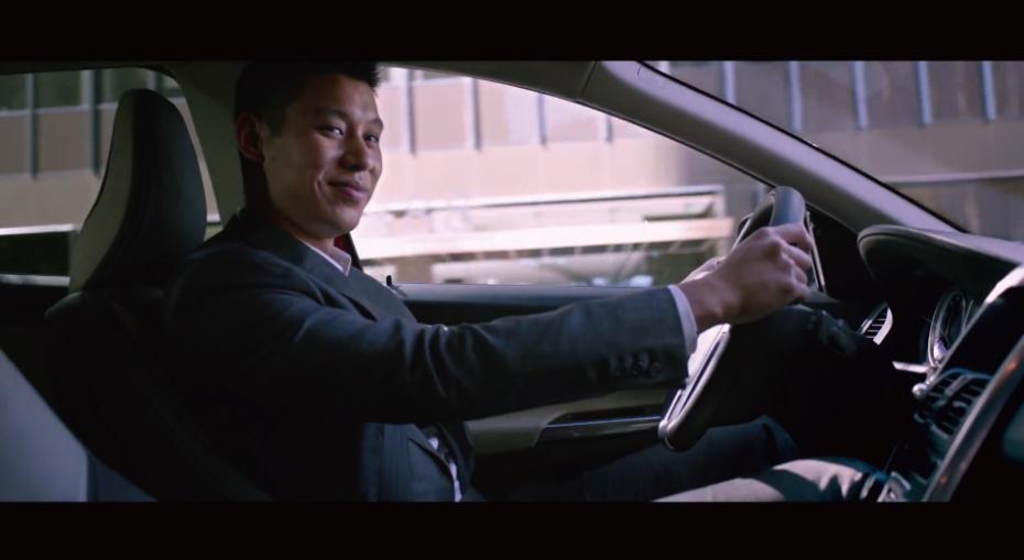 *Volvo 與林書豪的廣告開播:Jeremy Lin and the XC60 2