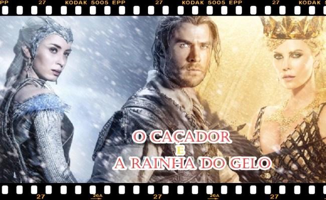 Viciada Por Livro Trailer O Caçador E A Rainha De Gelo