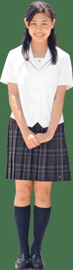 敦賀気比高等学校の女子の制服4