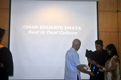 Omar Emata, Best in Deaf Culture