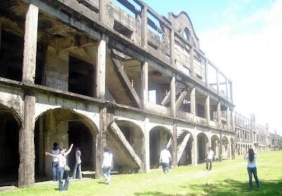 Corregidor's largest Soldiers' barracks