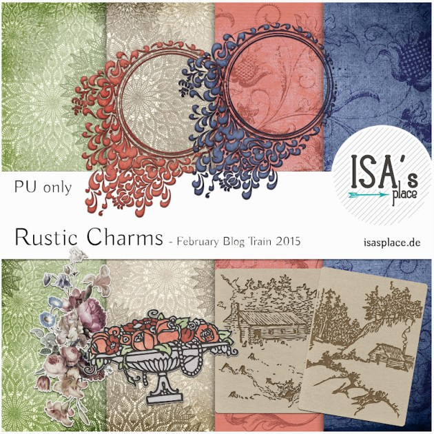 Blog Train Rustic Charms