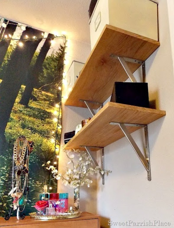 DIY Wall Shelves6