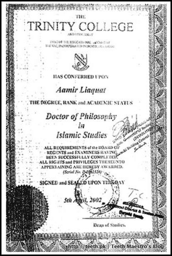 Doctor of Philosophy in Islamic Studies
