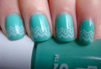 Elegant Lace Nail Art Designs For You - Styles Art