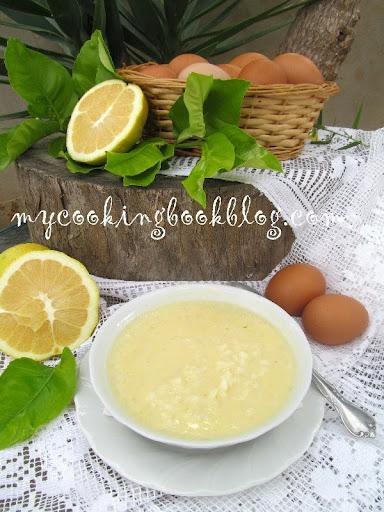 Супа Авголемоно (Αυγολέμονο)