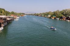 River Buna, close to the Albanian border.