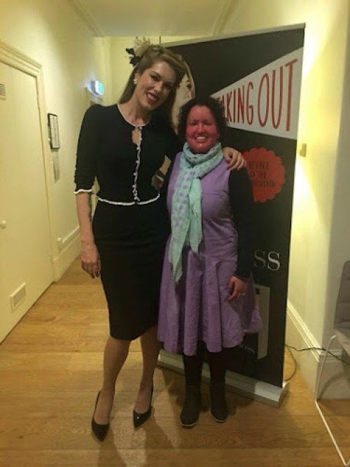 Tara Moss and Carly Findlay