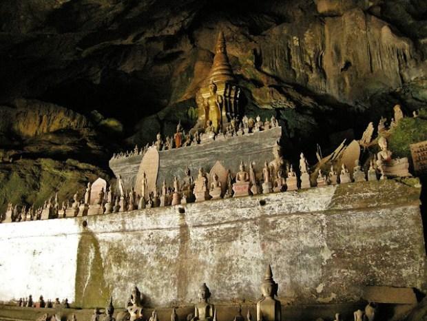 Pak Ou Caves, as cavernas dos budas defeituosos