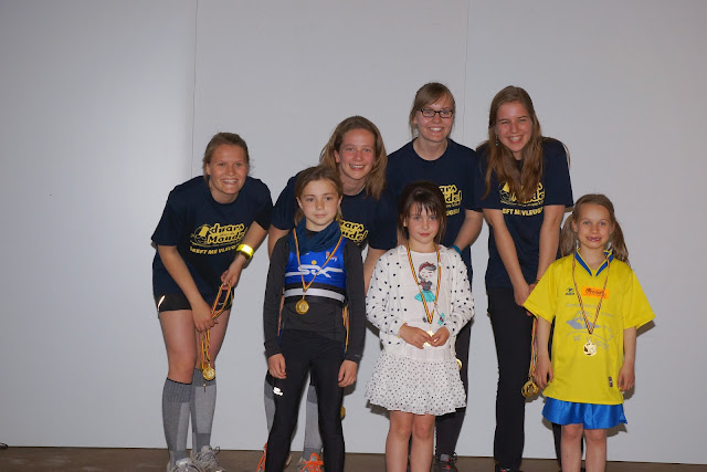 podium kids, Dwars over de Mandel 2015
