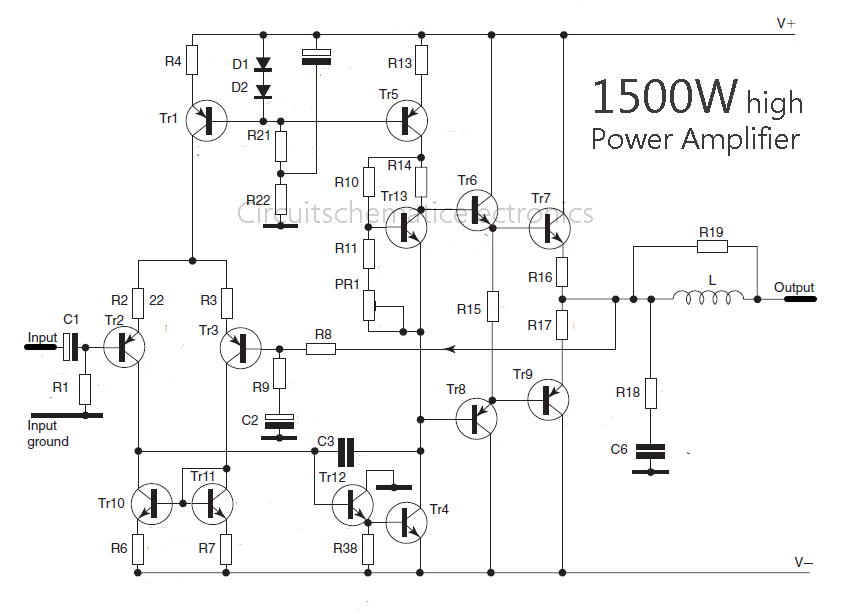 2000w power amplifier circuit diagram wiring for 2 4 ohm dvc subs 1000 watt audio diagrams trusted free 2sc5200 2sa1943 500watt