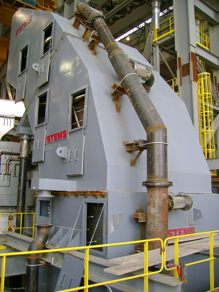 Spray-Cooled ductwork can be designed with multiple access opening for easier repair and periodic inspections.