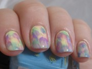 beautiful pastel colors marble