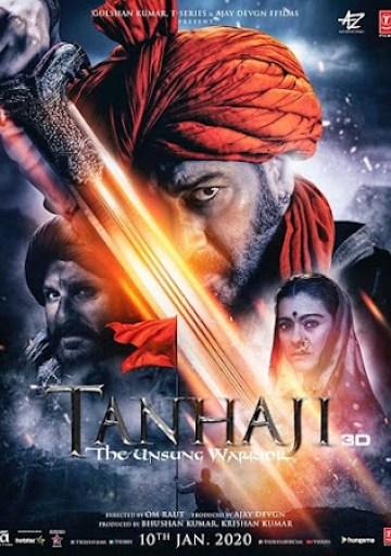Tanhaji Tanhaji (2020) Full Movie Download 300MB 480P PDVD HD Free Hindi