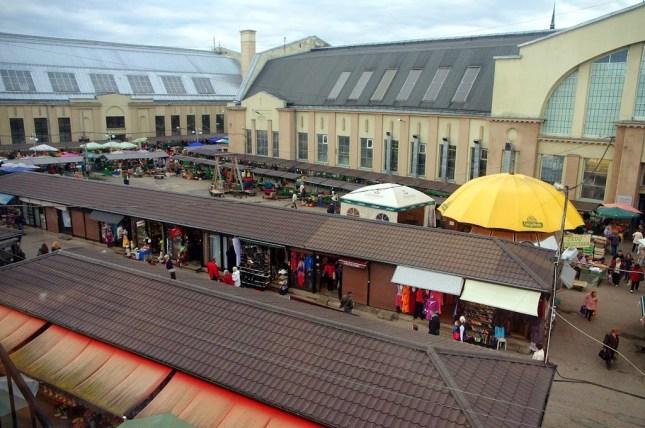 Qué ver en Riga. Mercado central de Riga
