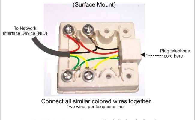 Wiring A Home Phone Jack – Cute766Cute766