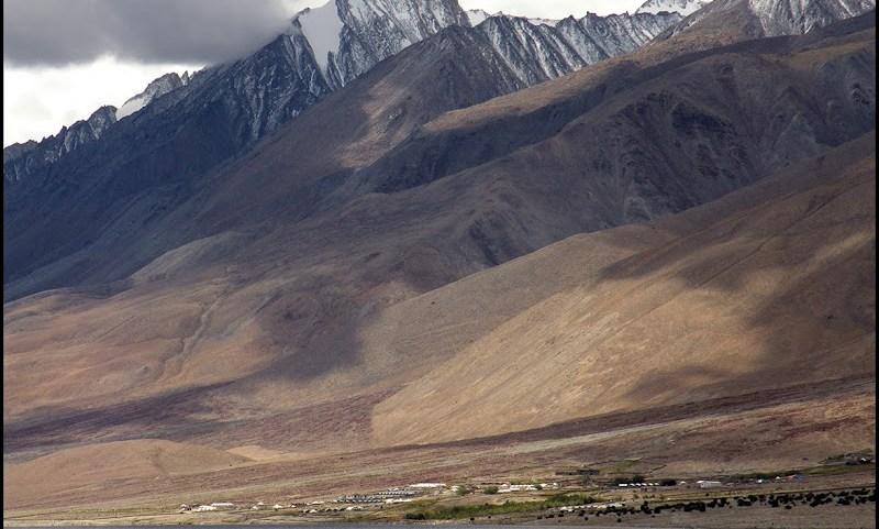 Khaltse village pangong