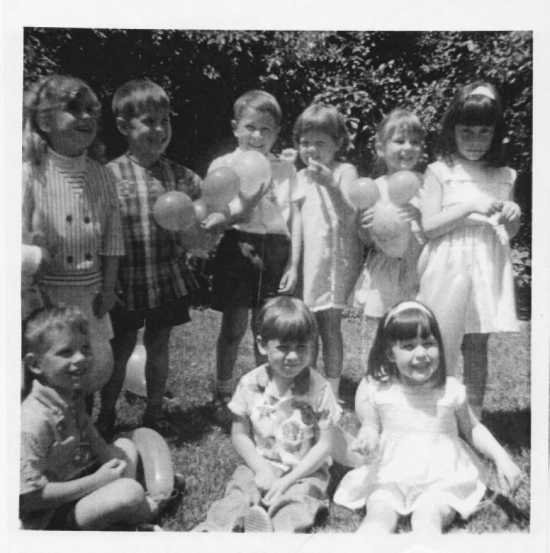60s Kids Megan Cridland's birthday c1969