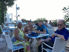 Enjoying 'The Garden' in Zadar