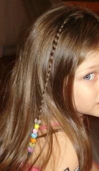 Hair Braiding with Beads