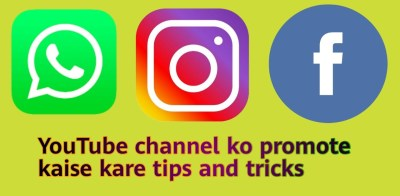 how to promote YouTube channel