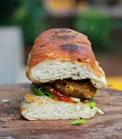 素食派地铁三明治食谱