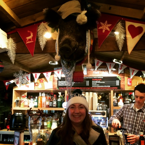 Apres Ski hut Bath - Bruno the Boar!