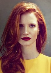 fashion girls red hair color