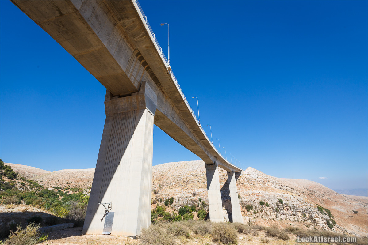 Мост Ахбара   גשר עכברה   LookAtIsrael.com - Фото путешествия по Израилю
