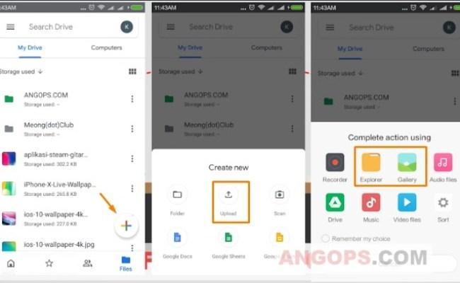 Cara Menyimpan Data Di Google Drive Android Cute766