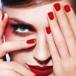 Red Nail Art Ideas For Girls