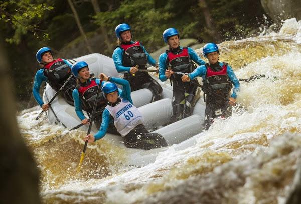 Belgische Nationale ploeg rafting
