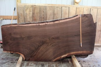 "463 Walnut -4 2 1/2"" x 43"" x 29"" Wide x 8' Long"