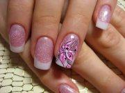 cute spring nail art design 2015