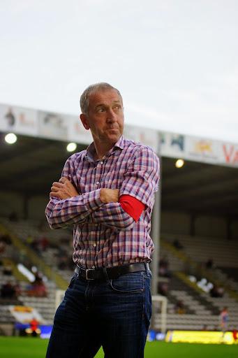 coach Franky Van der Elst