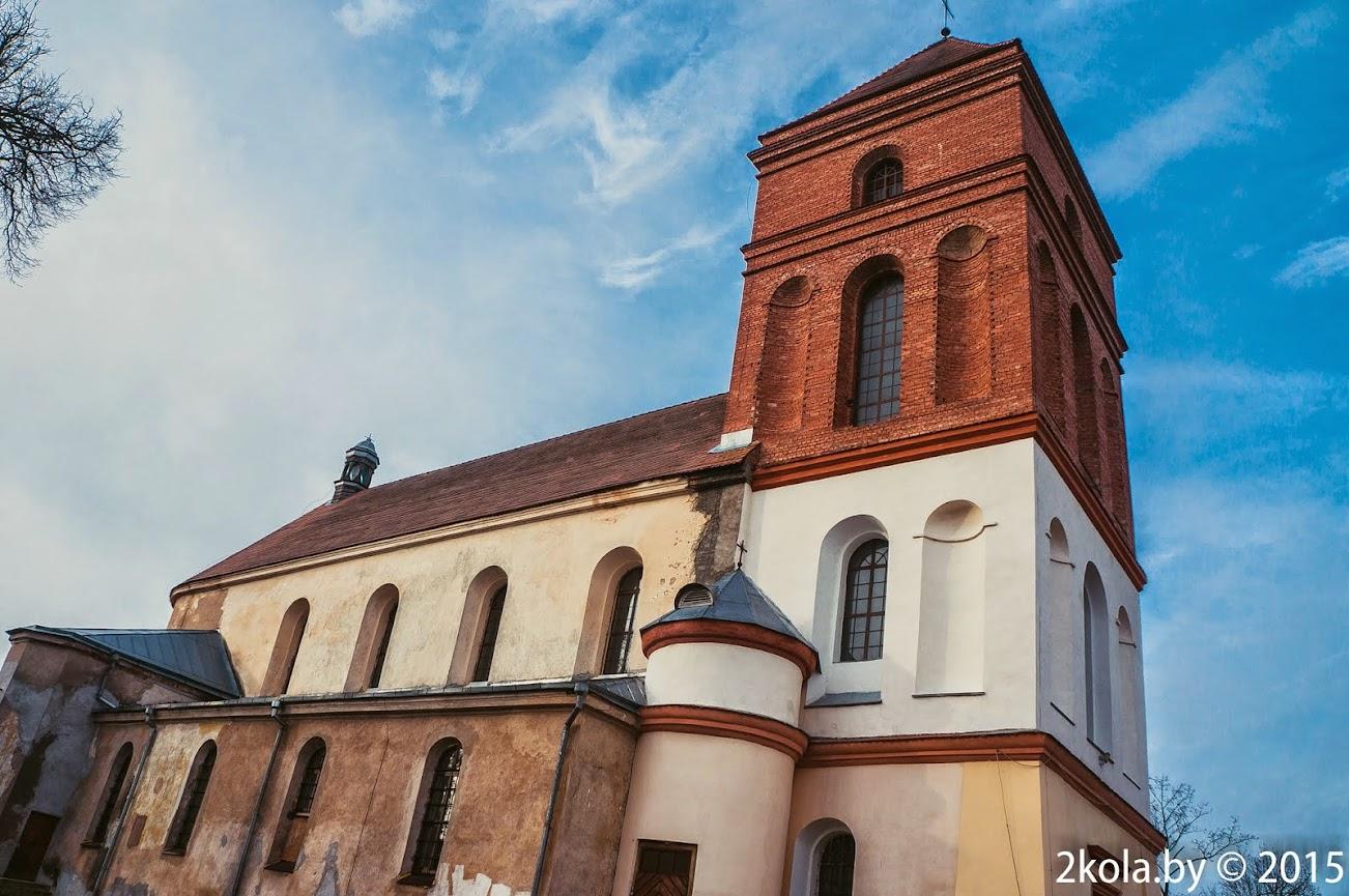 Касцёл св. Мікалая 1587г. г.Мір