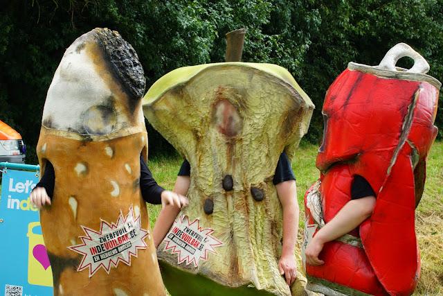 afval mascottes