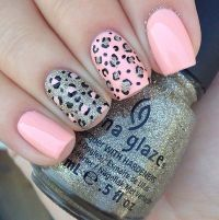 35 cheetah nail art designs ideas - Styles 7