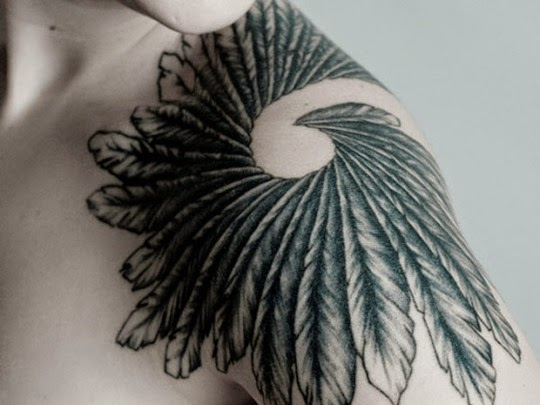 shoulder tattoos
