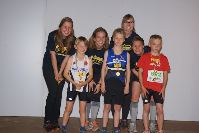 podium kids, Dwars over de Mandel 2015